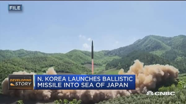 Military options discussed by joint chiefs chair after North Korean missile launch