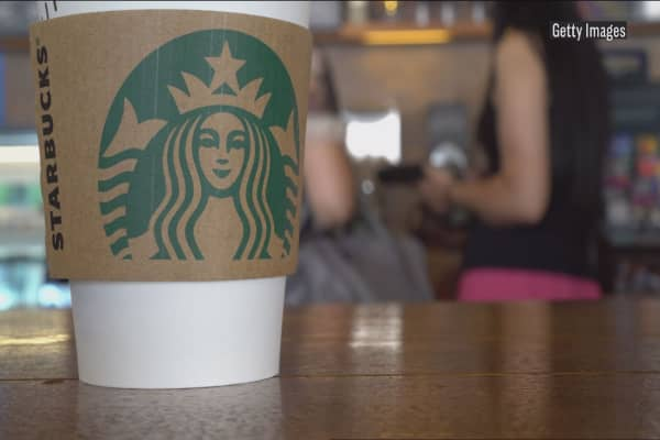 Starbucks brands suffering from slowing mall traffic