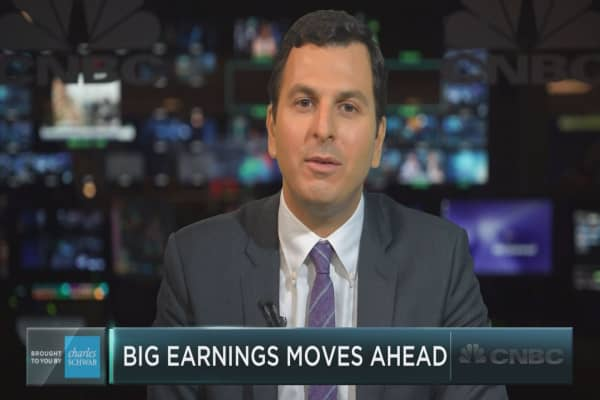 These 5 stock could see big moves on earnings