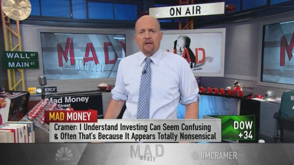 Cramer: What to do when stocks drop for no apparent reason