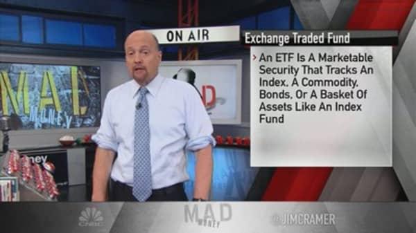 Cramer: ETFs and single stock risk