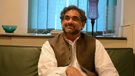 Shahid Khaqan Abbasi is expected to be the interim prime minister of Pakistan.