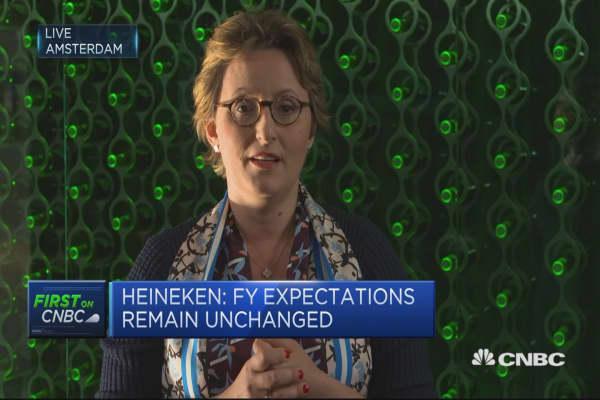 Heineken CFO: Curent FX rates would reduce profit by 130 million euros