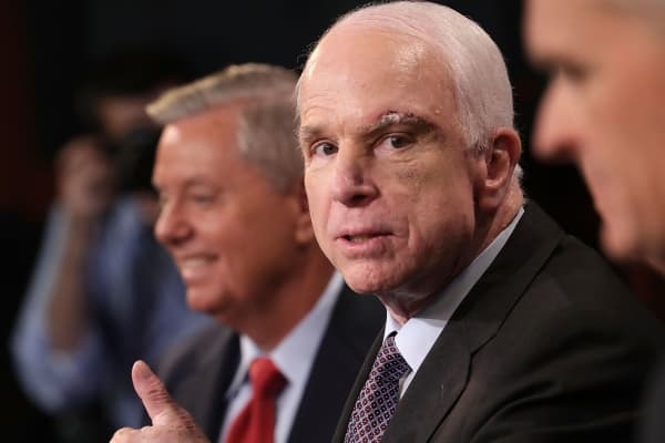 Image result for images of sen john mccain