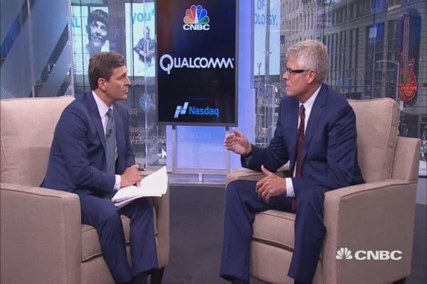 Image result for Qualcomm CEO: Our business model is 'unique' so it's 'easy to attack'