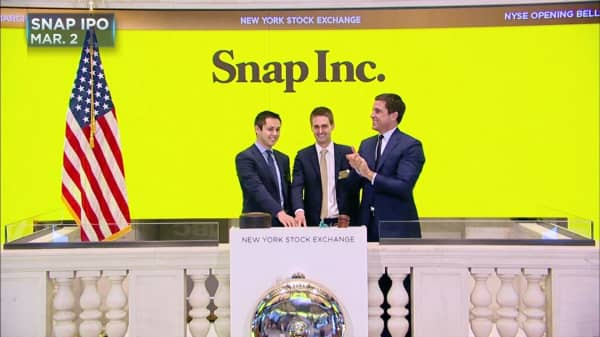 How much employee earn snap shares ipo