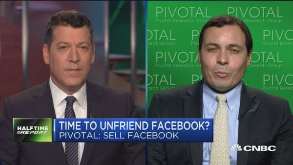 Pivotal's call to sell Facebook