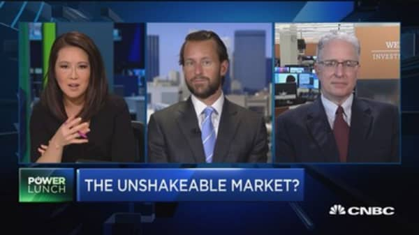 Is the market unshakable?