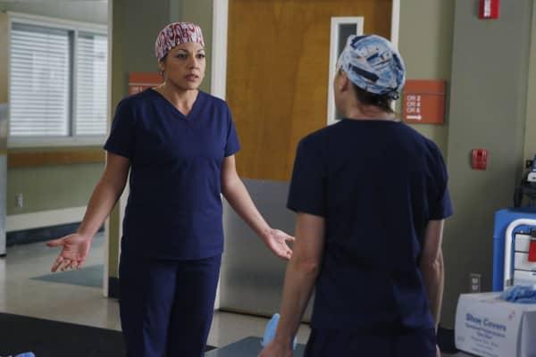 Sara Ramirez as Callie Torres in Grey's Anatomy