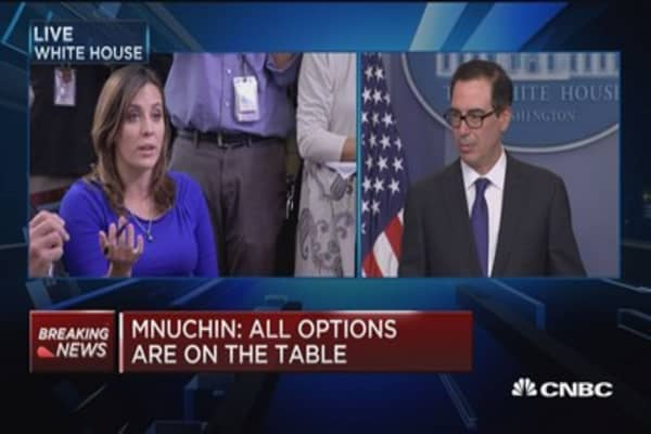 Mnuchin: We will continue to monitor the situation