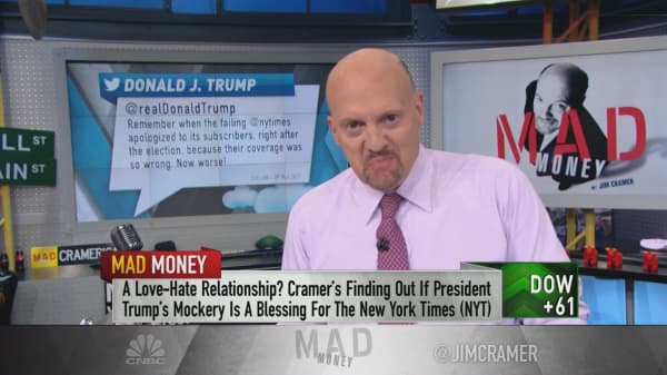Cramer on the not-so-failing New York Times