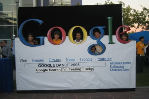 Node CEO Falon Fatemi in 2005 at Google