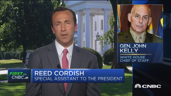 Reed Cordish: General Kelly is the right man and the right leader