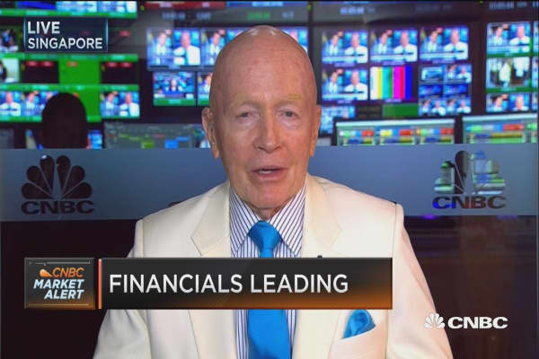 Templeton's Mark Mobius: US profit taking going into overseas markets