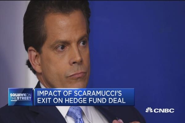 Future unclear for SkyBridge on Scaramucci exit