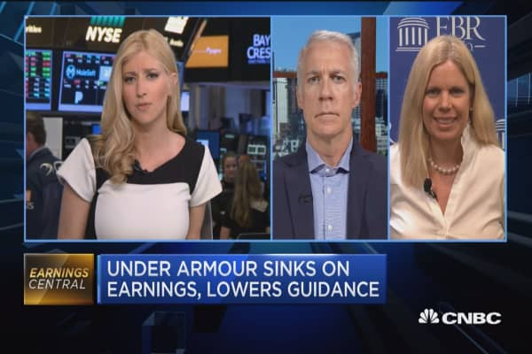 Skeptical Under Armour will meet lowered revenue guidance: FBR Capital's Susan Anderson