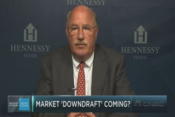 Neil Hennessy of Hennessy Funds on the next market downturn