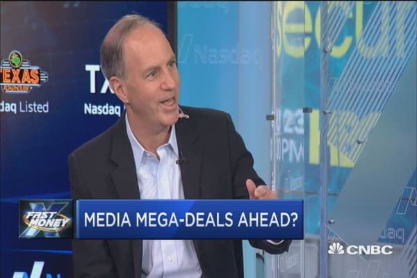 Yahoo Finance's Editor-in-Chief says multiple mega-deals are coming for the media industry in 2017