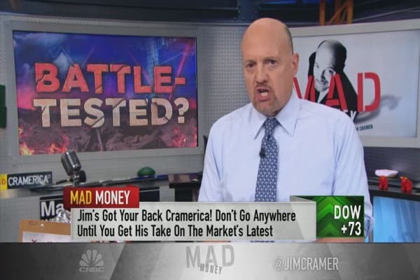 Cramer: For investors who weathered the market sell-off