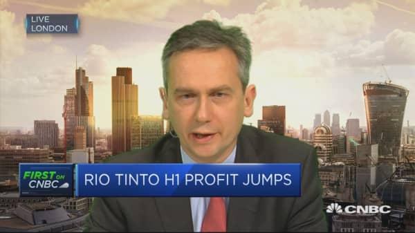 $3 billion of cash returns happening today: Rio Tinto CEO