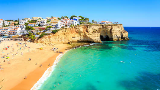 Carvoeiro, Algarve, Portugal.