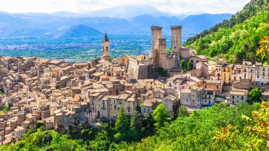 Pacentro,Abruzzo,Italy.