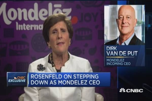 Mondelez CEO: Dirk Van de Put has a very strong, proven track record