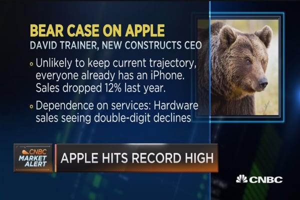 Apple trying to keep innovation leadership on hardware level: William Blair 's Anil Doradla