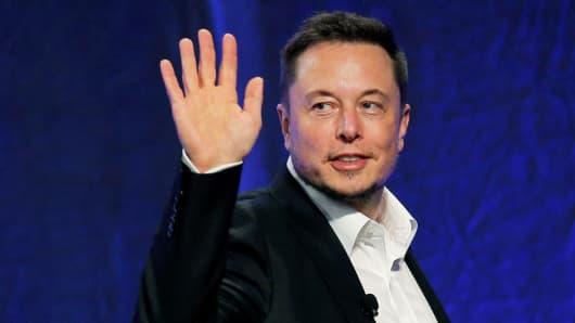 Tesla Motors CEO Elon Musk