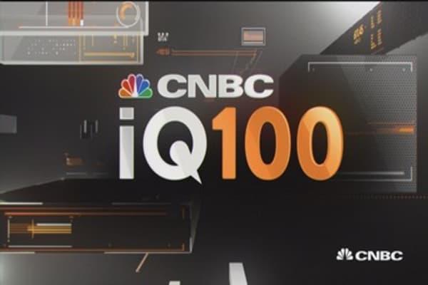 Apple leading the IQ100