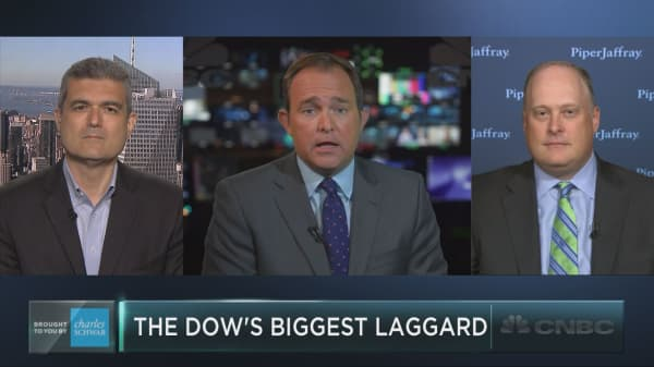 The Dow's oldest stock is also its worst performer this year