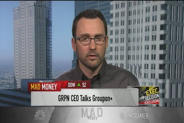 Groupon CEO shares discounter's next steps