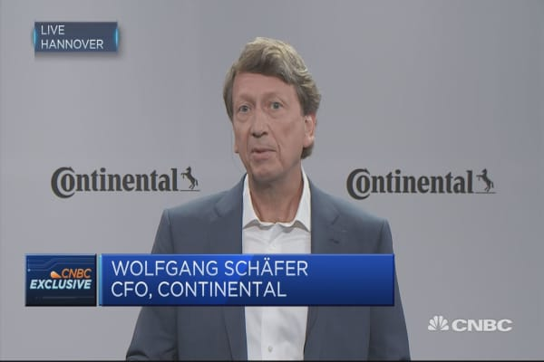 Continental: Order intake 50% higher than sales in H1