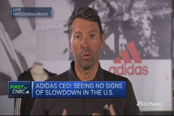Adidas will fix capacity issues for Boost shoes over time: CEO
