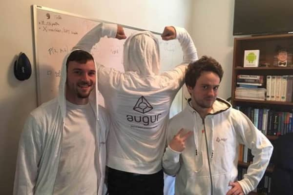 Co-founders of Augur, the original roommates of the Crypto Castle