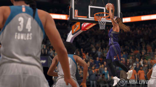 NBA Live 18 Adds WNBA Players and Teams for a Historic First