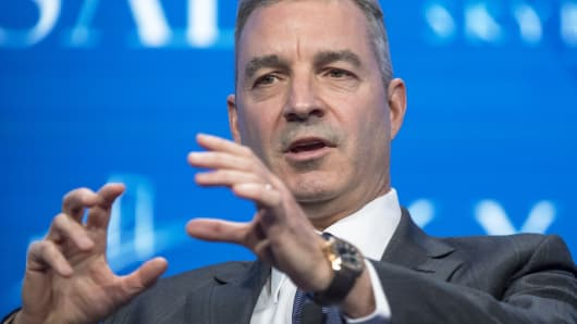 Daniel Loeb, chief executive officer of Third Point LLC, speaks at the Skybridge Alternatives conference in Las Vegas, May 18, 2017.