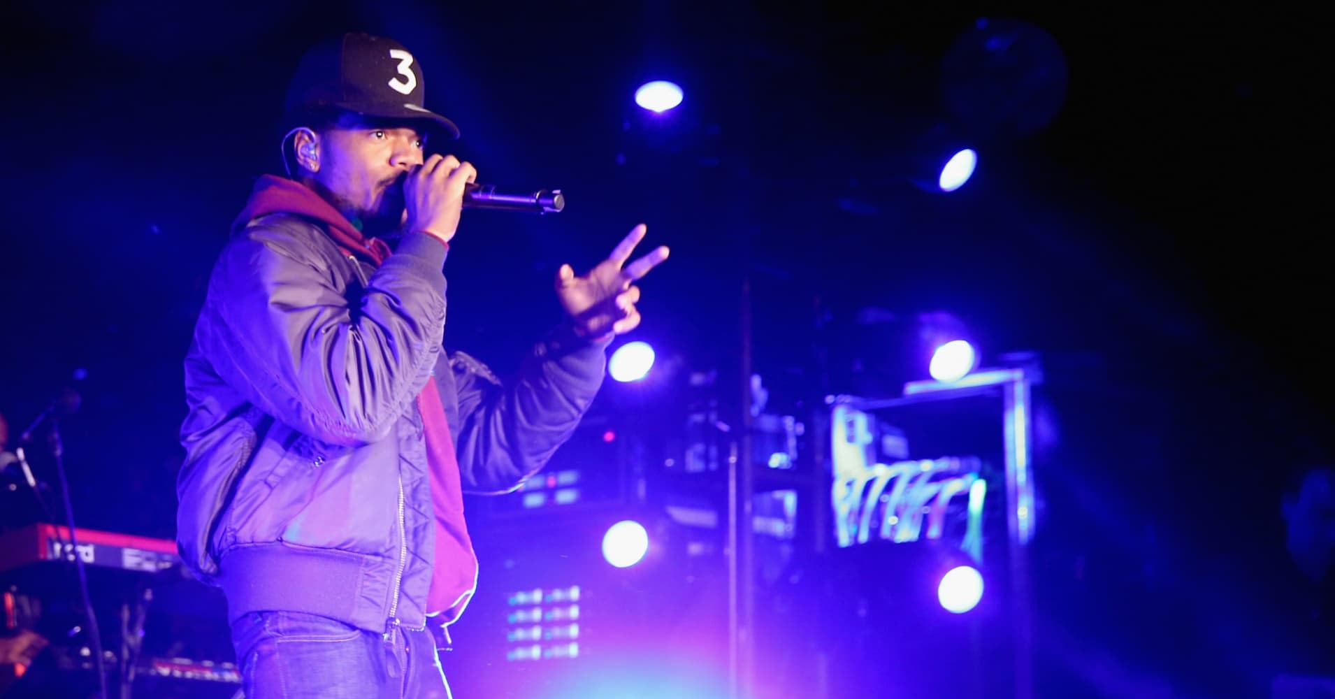 Chance The Rapper performs onstage during Take-Two's Annual E3 Kickoff Party at Cecconi's Restaurant on June 13, 2016 in Los Angeles, California.
