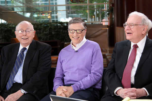 Charlie Munger, Bill Gates, and Warren Buffett