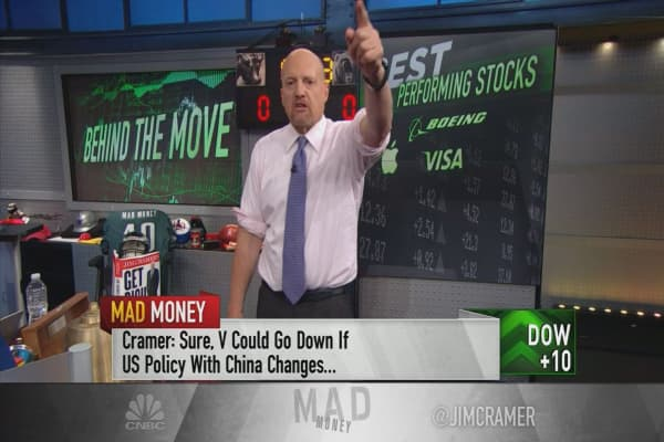 Cramer checks the rally's merit by inspecting the Dow's top 10 stocks
