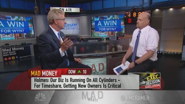 Wyndham Worldwide CEO discusses hotel and timeshare giant's recent split