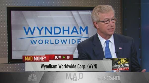 WYN CEO on hotel-timeshare giant's split