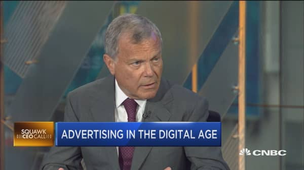 Google, Facebook dominate digital ad space: WWP CEO