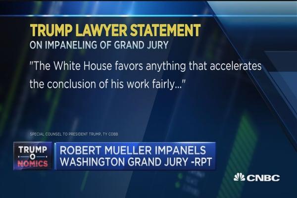Trump tweets jobs report 'excellent'