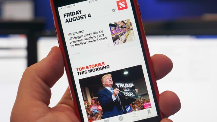 CNBC Tech: Apple News