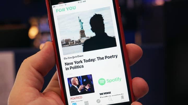 CNBC Tech: Apple News 4