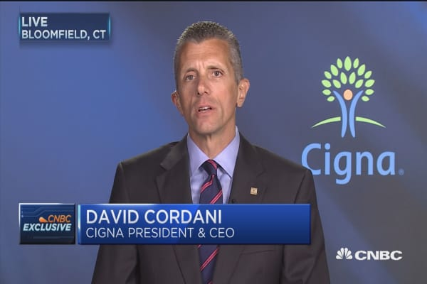 Cigna CEO: Obamacare marketplace remains 'challenging' for 2017 and 2018