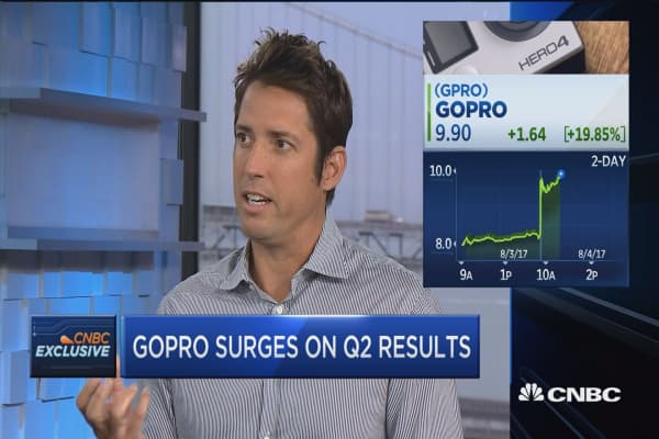 GoPro CEO Nick Woodman: Here's how we compete with better and better smartphone cameras