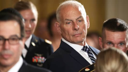 White House Chief of Staff Gen. John Kelly