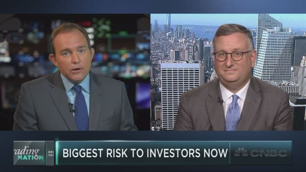 Chief investment strategist breaks down a huge risk for investors